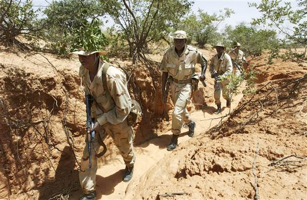 U.S. Marines Train Nigeriens To Fight Against Al Qaeda Based In The Sahara Desert