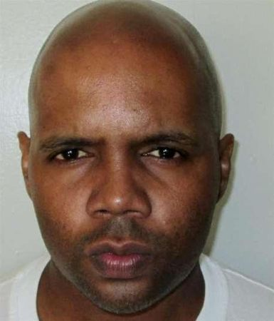 Death row inmate McNabb poses in this handout photo