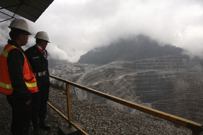 Mysterious shooting ambushes on the roads surrounding the massive open-pit Grasberg mine are not uncommon and have resulted in deaths in the past