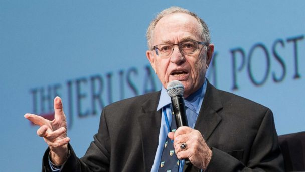 PHOTO: Alan Dershowitz, speaks at the Jerusalem Post Annual Conference in New York May 7, 2017. (Michael Brochstein/SOPA Images/LightRocket via Getty Images)