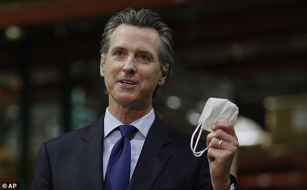Governor Gavin Newsom announced the shutdown on Wednesday, days after imposing a statewide order requiring all residents to wear masks in most public places